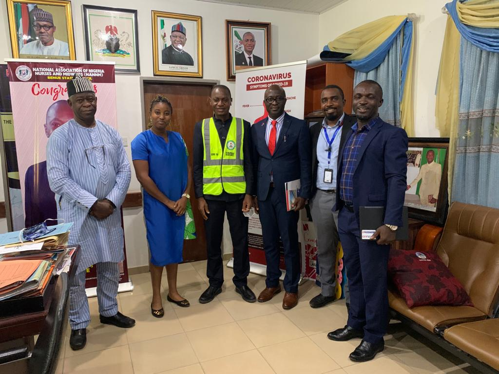 Advocacy visit to the Honourable Commissioner of Health, Benue State